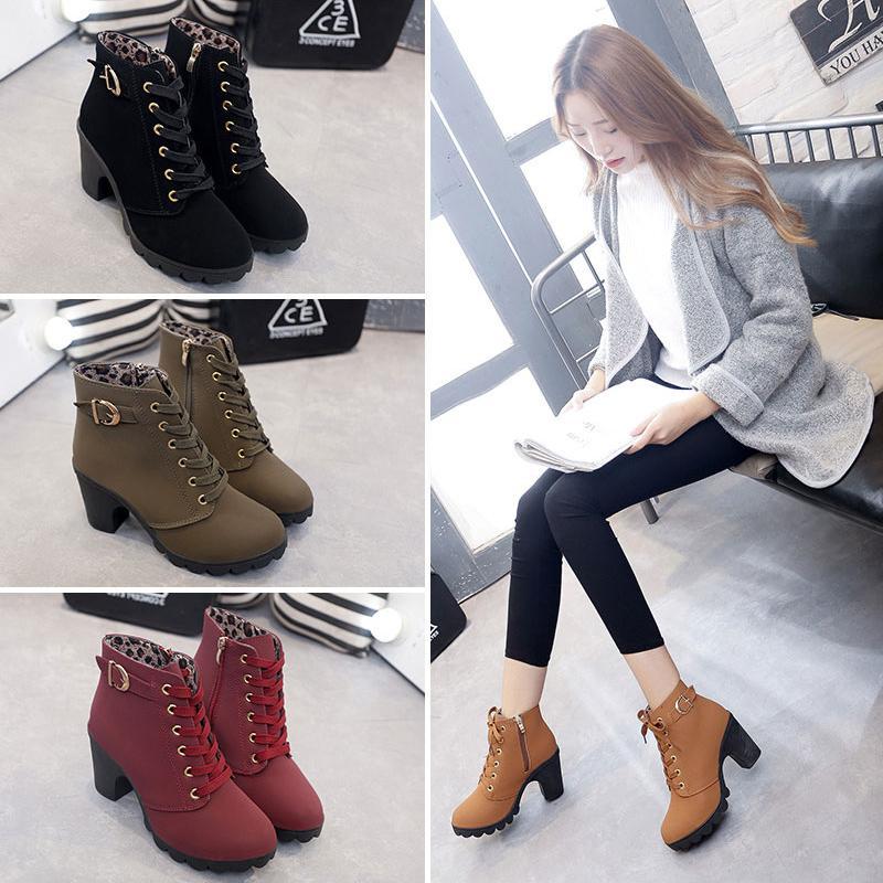 Giầy boots nữ chiến binh - 90138