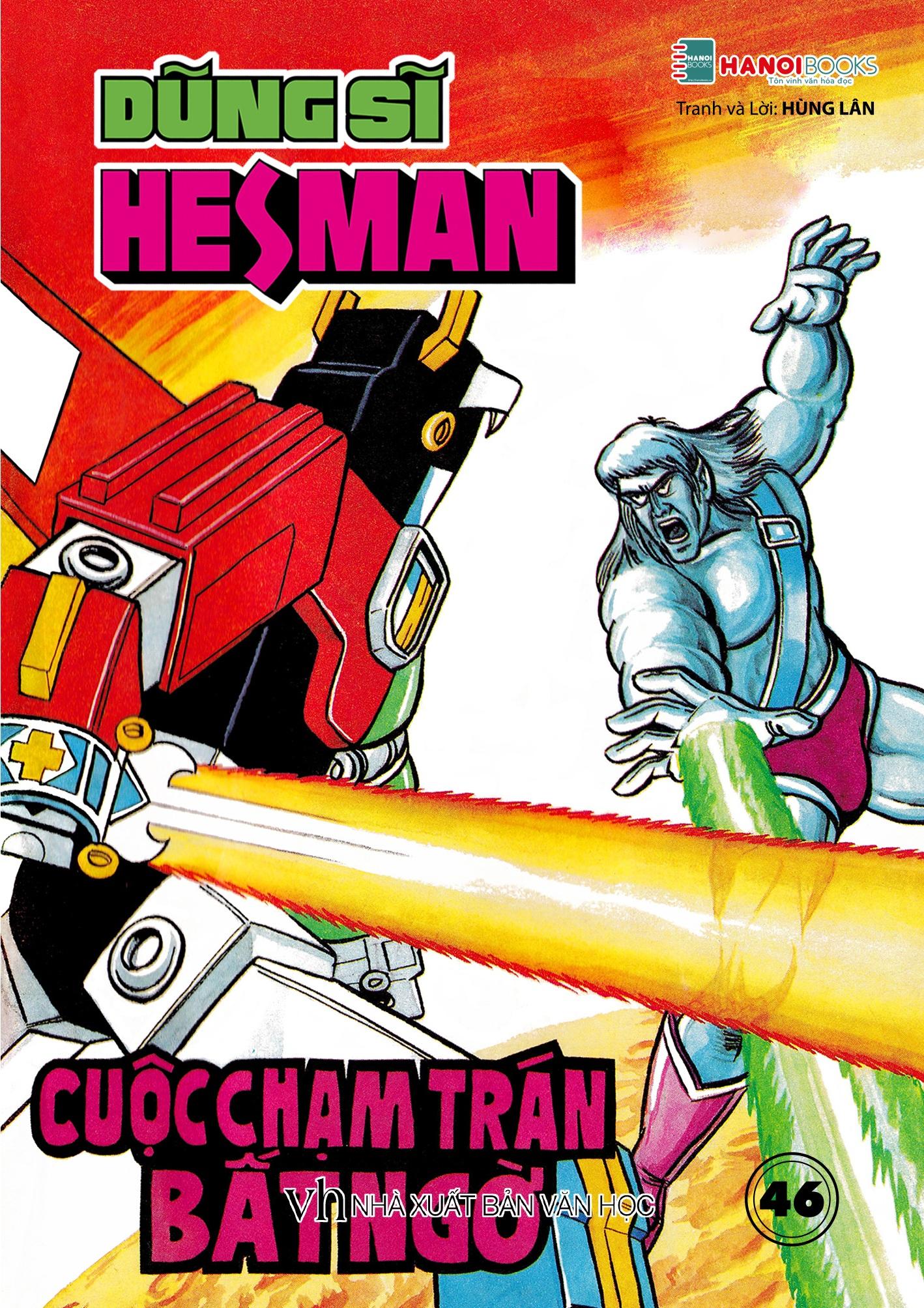 Boxset 10 : 5 tập Dũng Sĩ HesMan ( Từ tập 46 đến tập 50 )