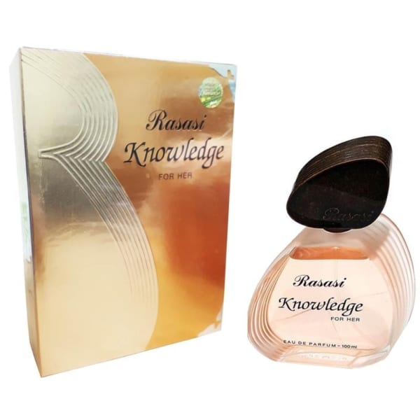 Tinh dầu nước hoa nữ Dubai Rasasi Knowledge For Her Eau De Parfum 100 ML