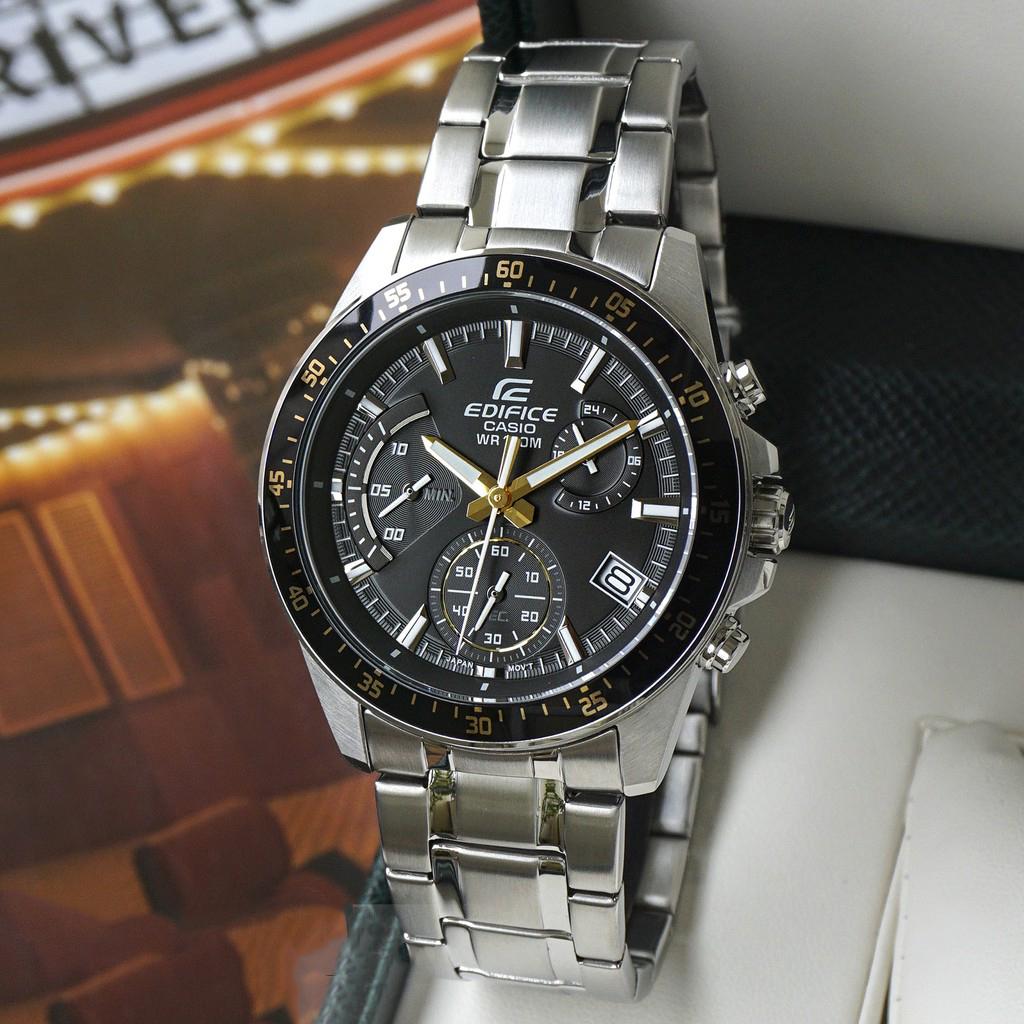 Đồng hồ nam dây kim loại Casio EDIFICE EFV-540D-1A9VUDF
