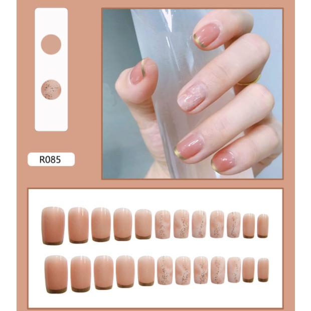 Bộ 24 móng tay giả nail thơi trang như hình (R085)