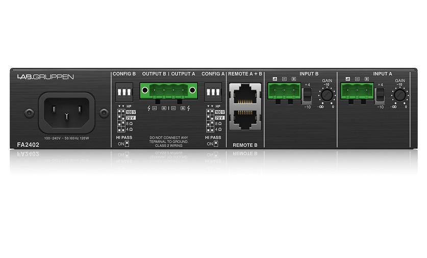 Power Amplifier Lab Gruppen FA2402 2 x 240 Watt-Hàng Chính Hãng