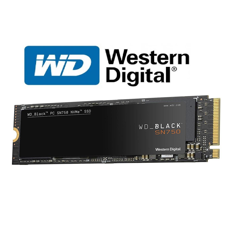 Ổ Cứng SSD WD Black SN750 500GB NVME M.2 2280 - Hàng Nhập Khẩu