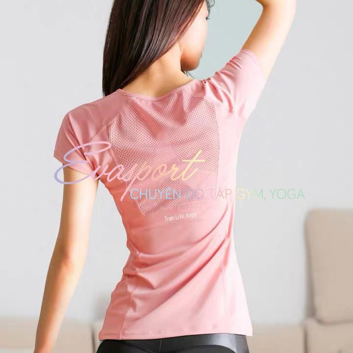 Áo Bodyfit Cộc Tay Đùi Thể Thao Phong Cách Âu Mỹ Tập Gym, Yoga, Aerobic, Zumba Nhập Khẩu Evasport