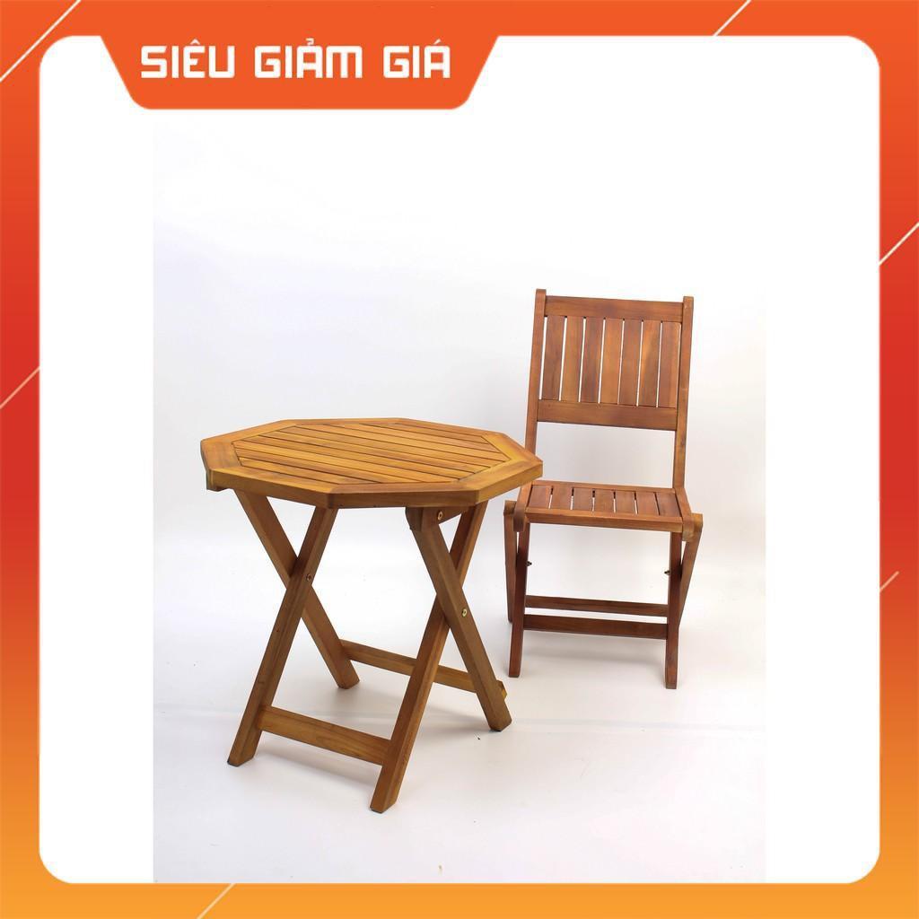 ghế cafe gỗ xếp gọn giá rẻ