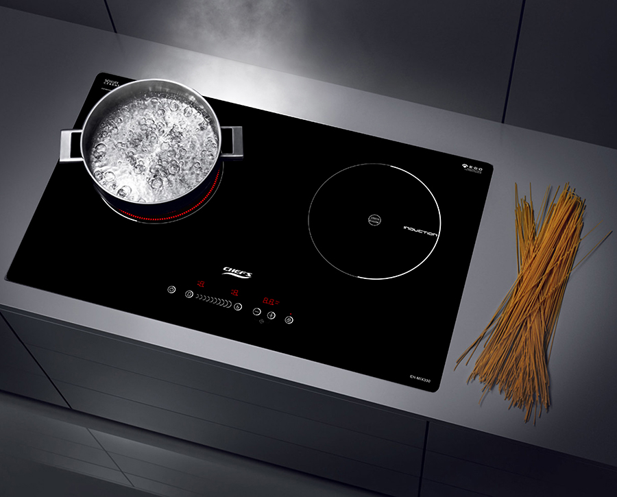 Bếp Hỗn Hợp 02 Vùng Nấu Chef's EH-MIX330 - Hàng chính hãng