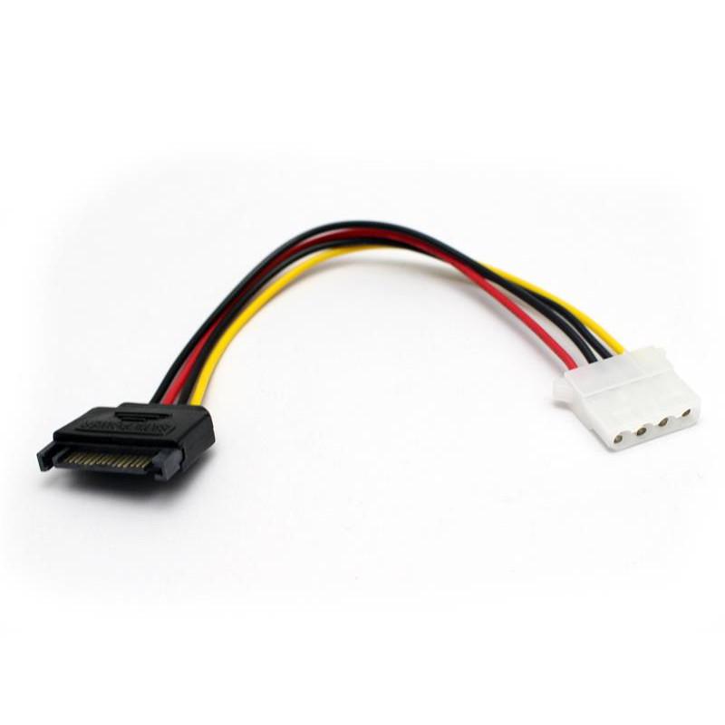 Cáp chuyển nguồn SATA ra cổng 4 pin
