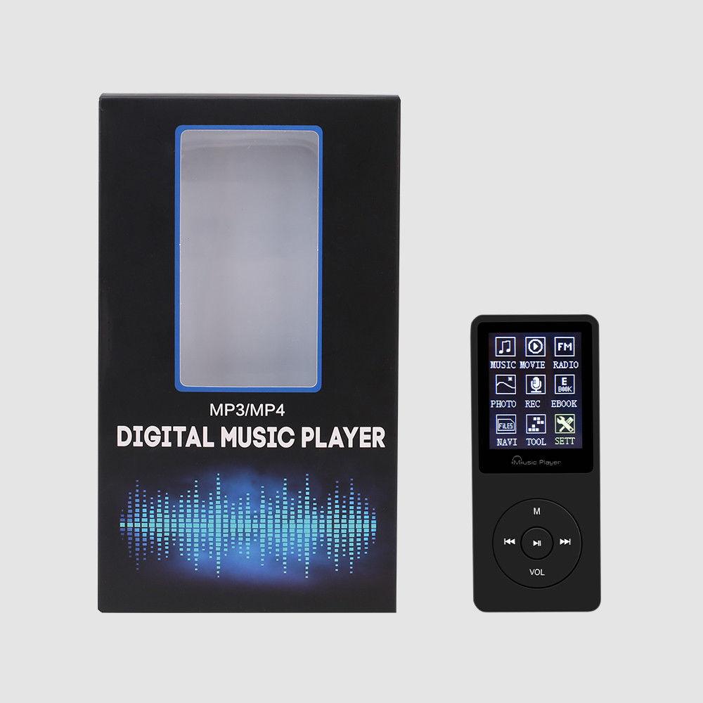 Máy Nghe Nhạc MP3 F8 Bộ nhớ trong sẵn 8G - Đen