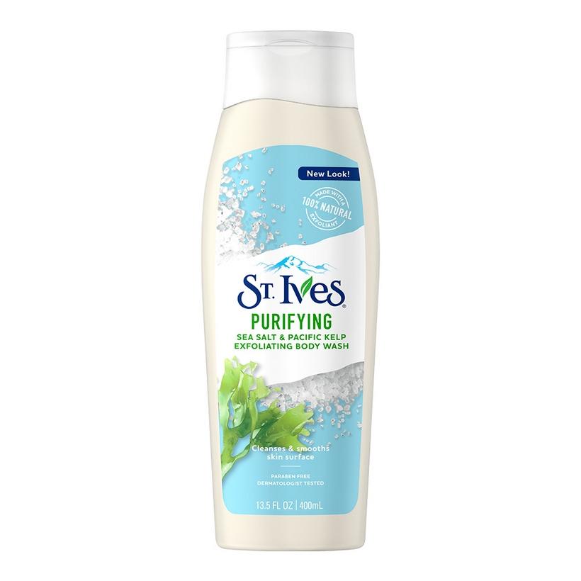 Bộ 2 Sữa tắm St.Ives Muối biển 400ml