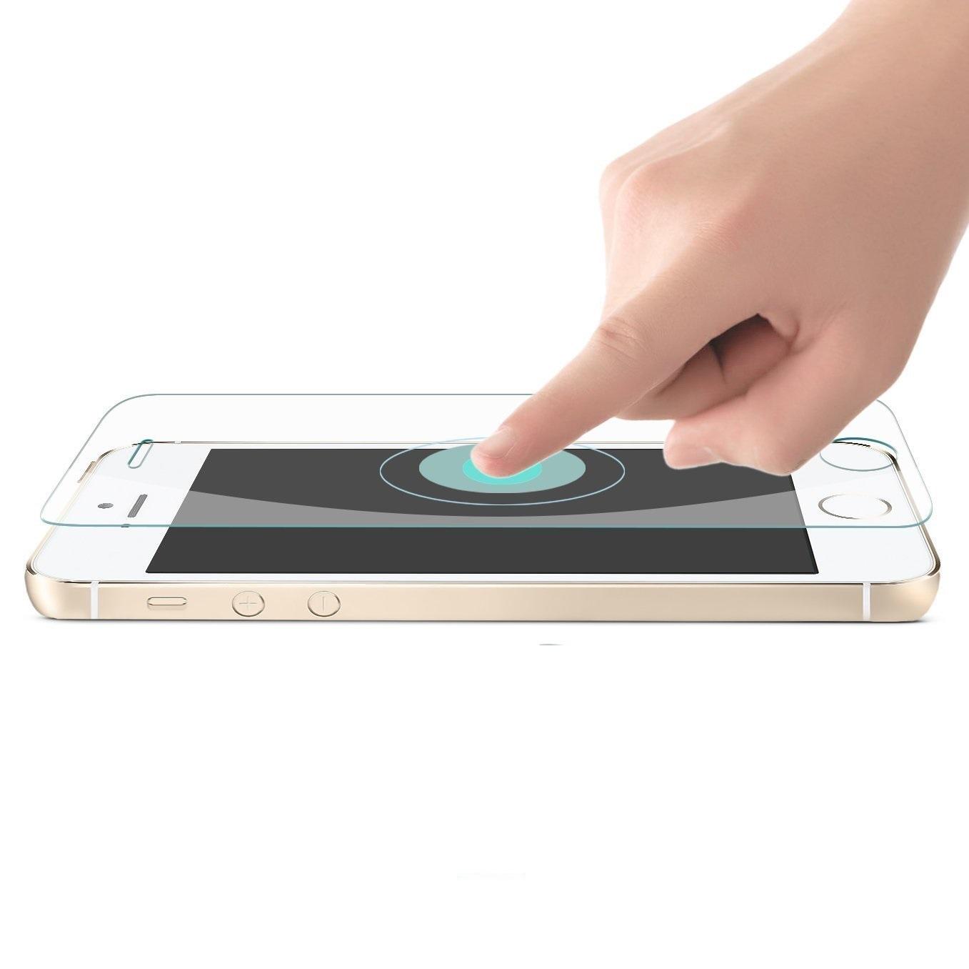 Tấm dán kính cường lực độ cứng 9H dành cho iPhone 5s - KLC01