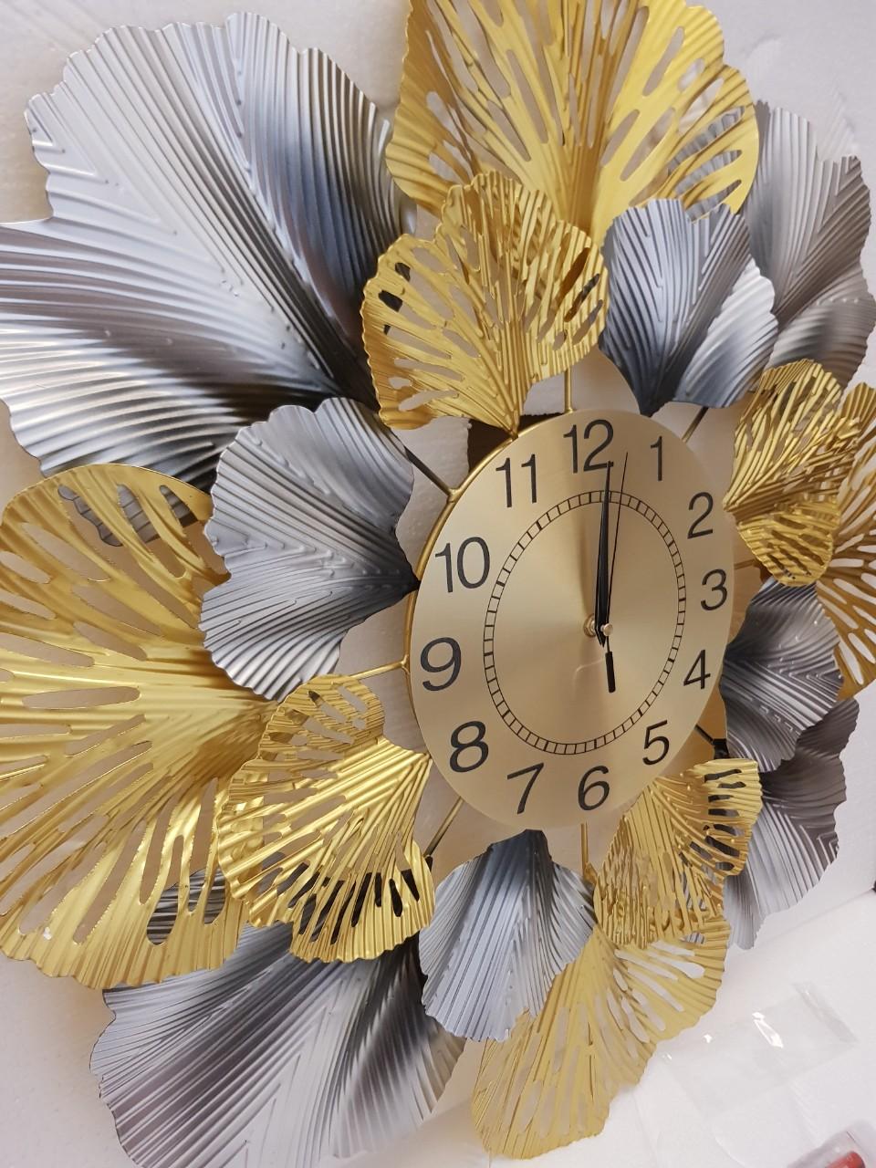Đồng Hồ Treo Tường Trang Trí Phòng Khách Mẫu Deco Nghệ Thuật RD75 Phong Cách Trang Trí Nội Thất Hiện Đại, Sang Trọng