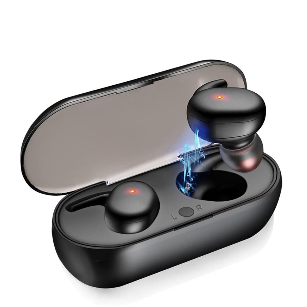 Tai nghe Bluetooth 5.0 Y30 nhét tai cao cấp- Điều khiển bằng giọng nói - Thao tác 1 chạm - Không thấm nước
