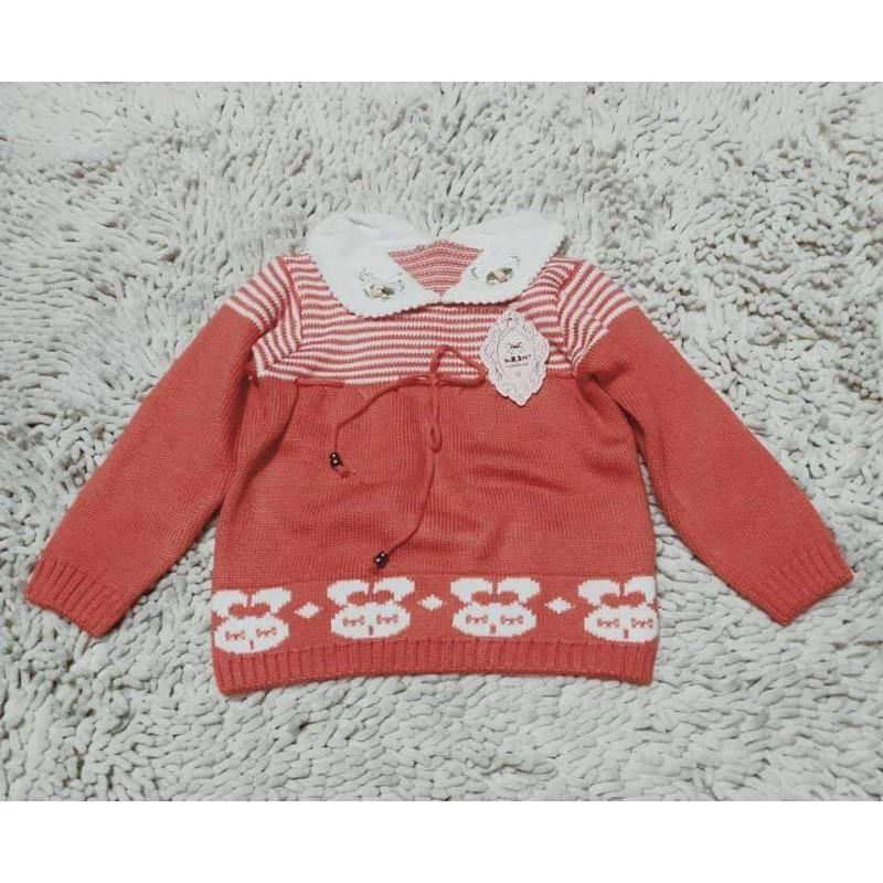 (2-4 tuoi) áo len bé gái