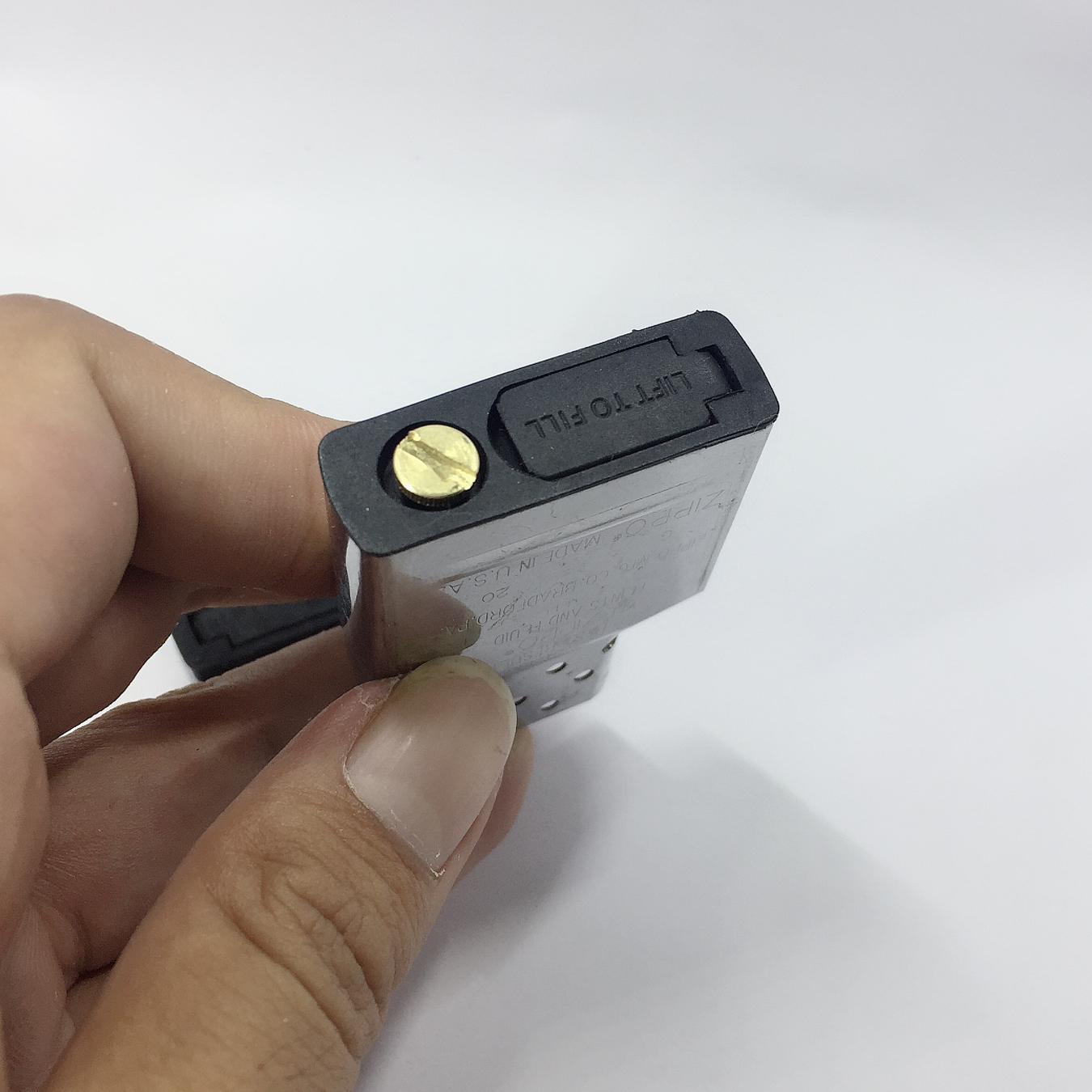Bộ 5 chặn xăng nhựa chuyên dùng cho bật lửa Zippo - Chặn xăng cao su