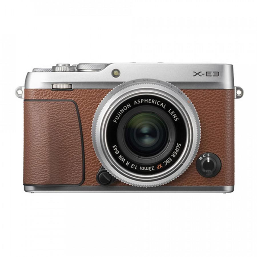Máy ảnh Fujifilm X-E3 + Fujinon 23mm f/2 - Hàng chính hãng