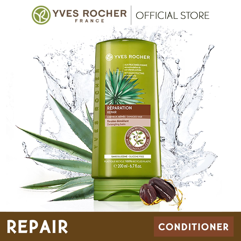 Bộ Dầu Gội + Xả Phục Hồi Tóc Hư Tổn Yves Rocher Nutri Repair Treatment (300ml+200ml)