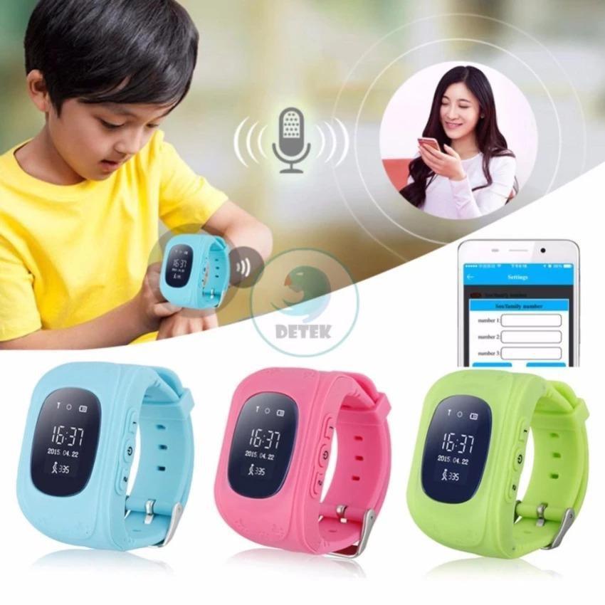 Đồng hồ thông minh có định vị an toàn cho bé ( đen )