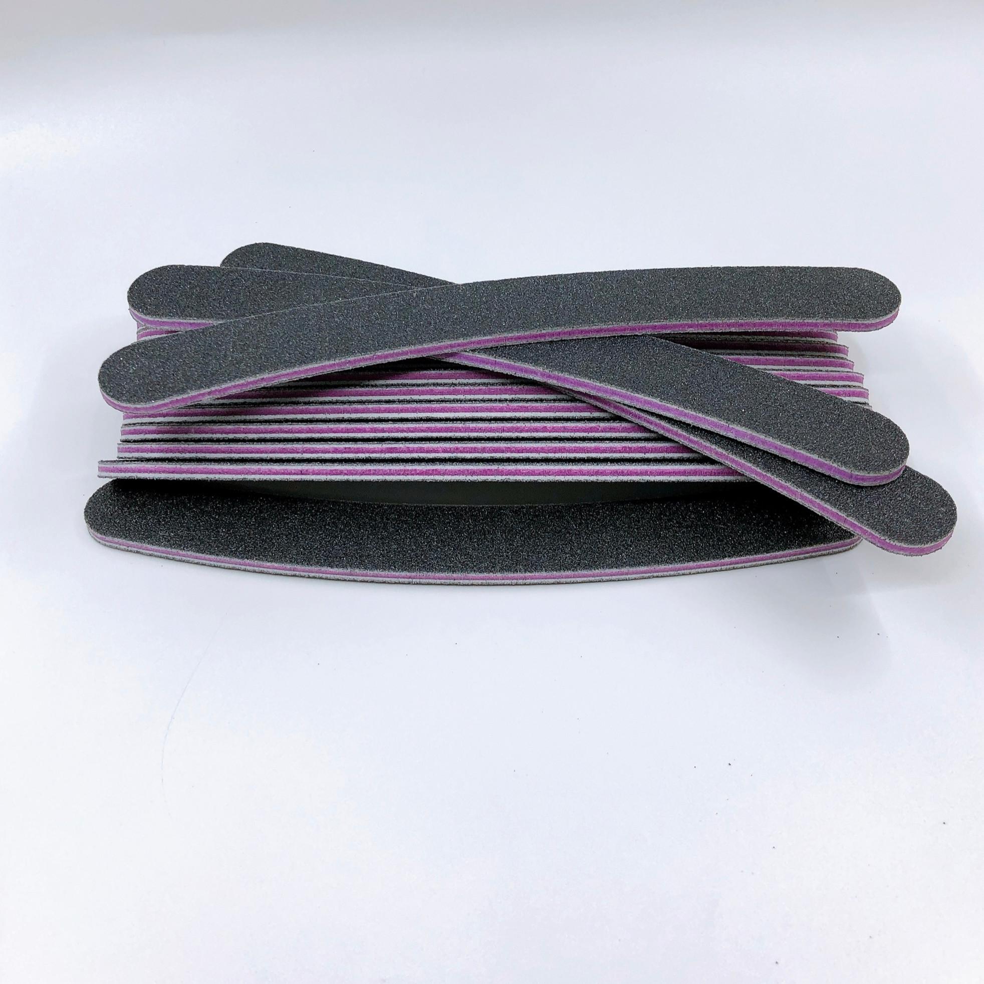 Set 7 dũa móng tay cong - độ nhám 100/100