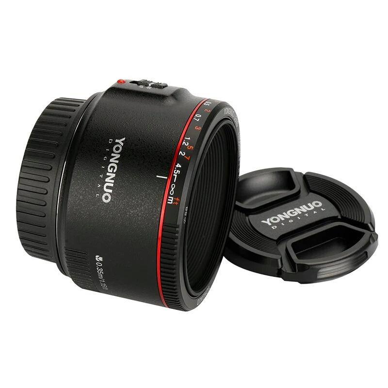 Ống kính Yongnuo 50mm F1.8 Mark II for Canon - Hàng nhập khẩu