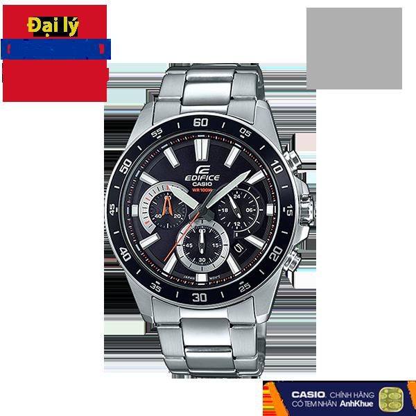 Đồng hồ nam dây kim loại Casio Edifice chính hãng EFV-570D-1AVUDF