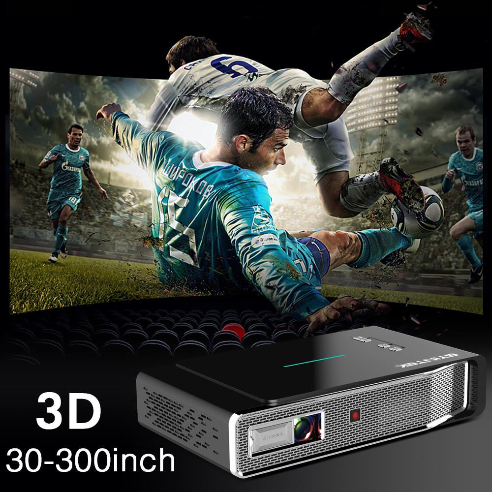 Máy chiếu Mini android Byintek R15, Led, HD, 3D, 8400 lumens - Hàng chính hãng