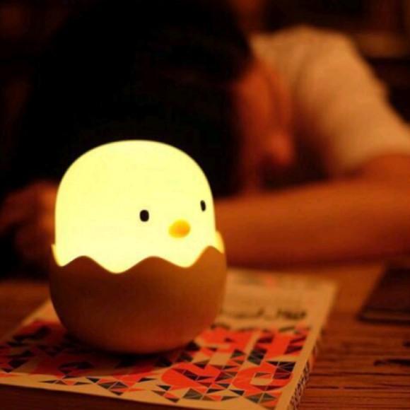 Đèn ngủ tự động hình quả trứng giá rẻ-Chất lượng -DC3768