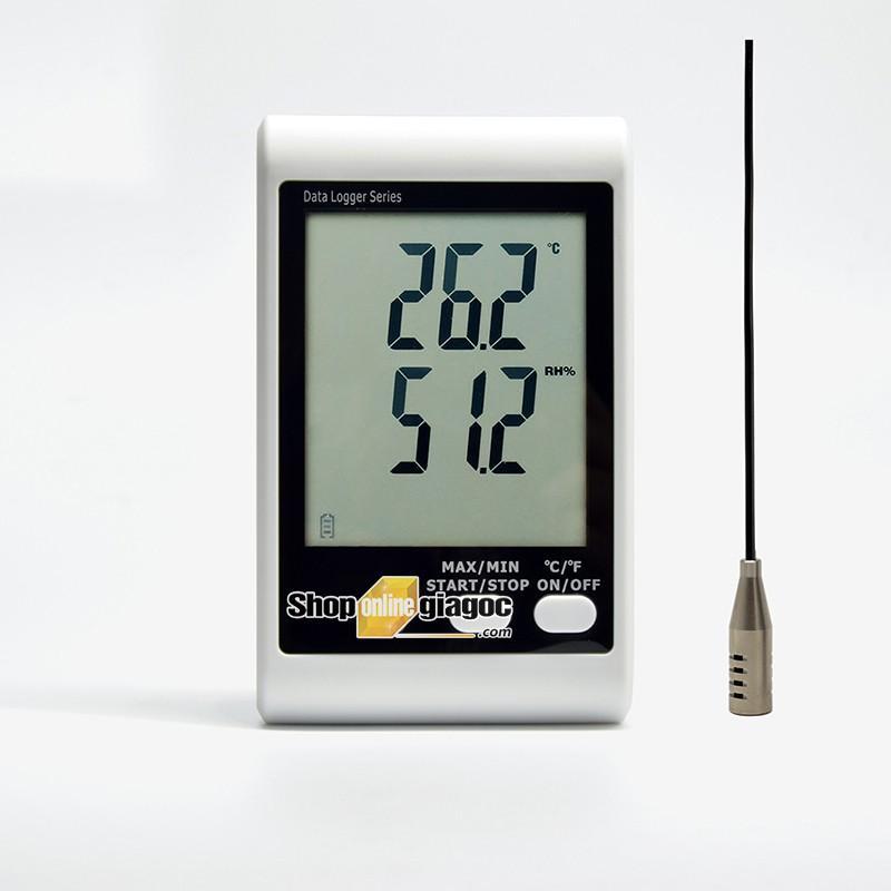 Nhiệt Ẩm Kế Tự Ghi DWL20 Đã Hiệu Chuẩn Theo TT02/ BYT
