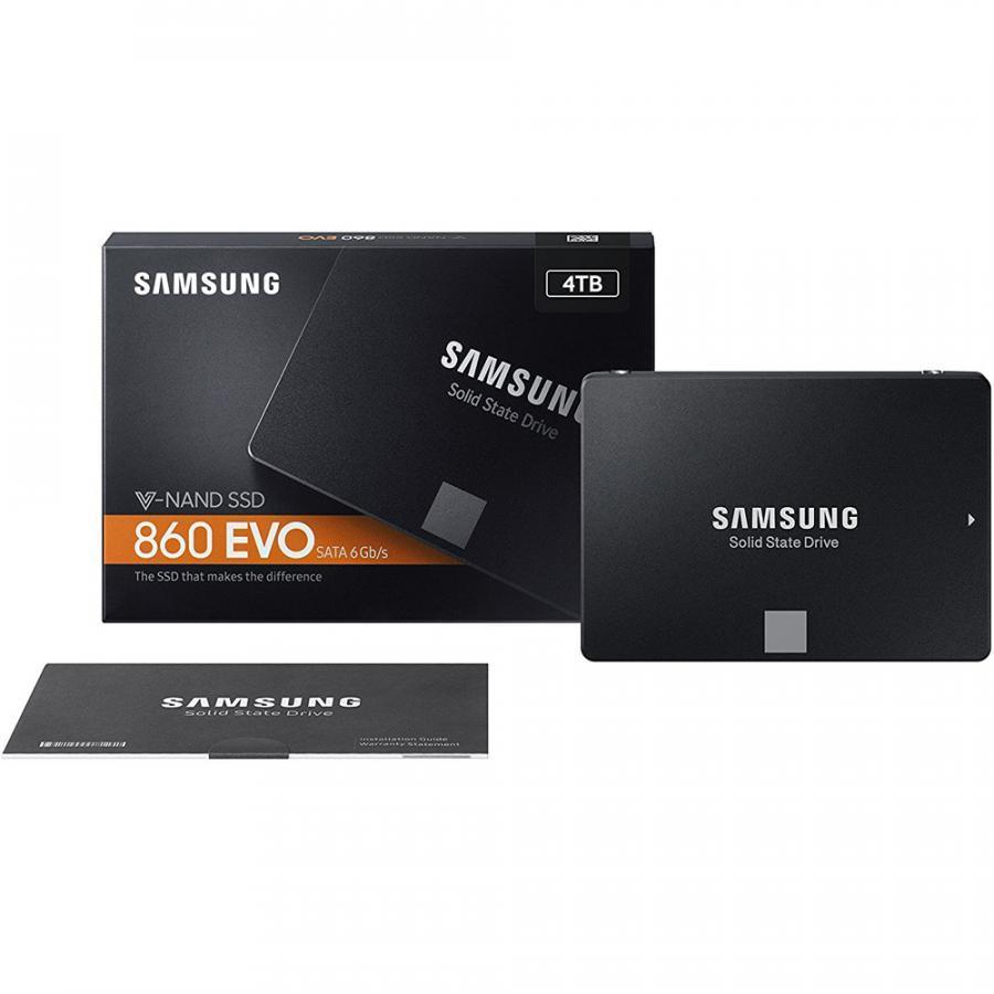 Ổ cứng SSD Samsung 860 Evo 250GB 2.5-Inch SATA III 3D V-NAND MZ-76E250BW - Hàng Chính Hãng