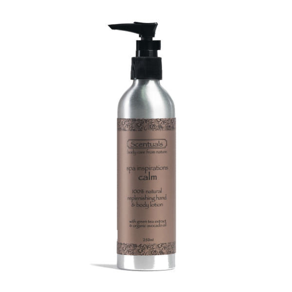 Sữa Dưỡng Thể Spa Calm Spa Inspirations Calm Replenishing Hand & Body Lotion Scentuals (250ml)