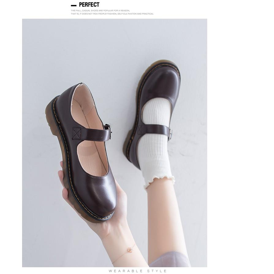 Giày Mary Jane cao 3cm