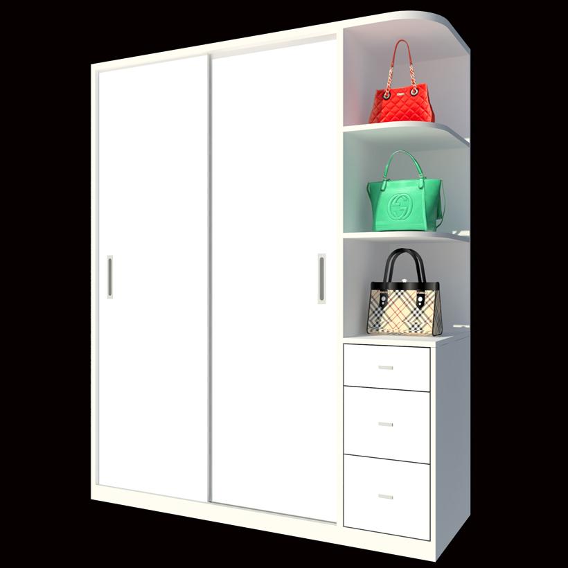 Tủ Áo Cửa Lùa FT196 (160cm x 200cm)