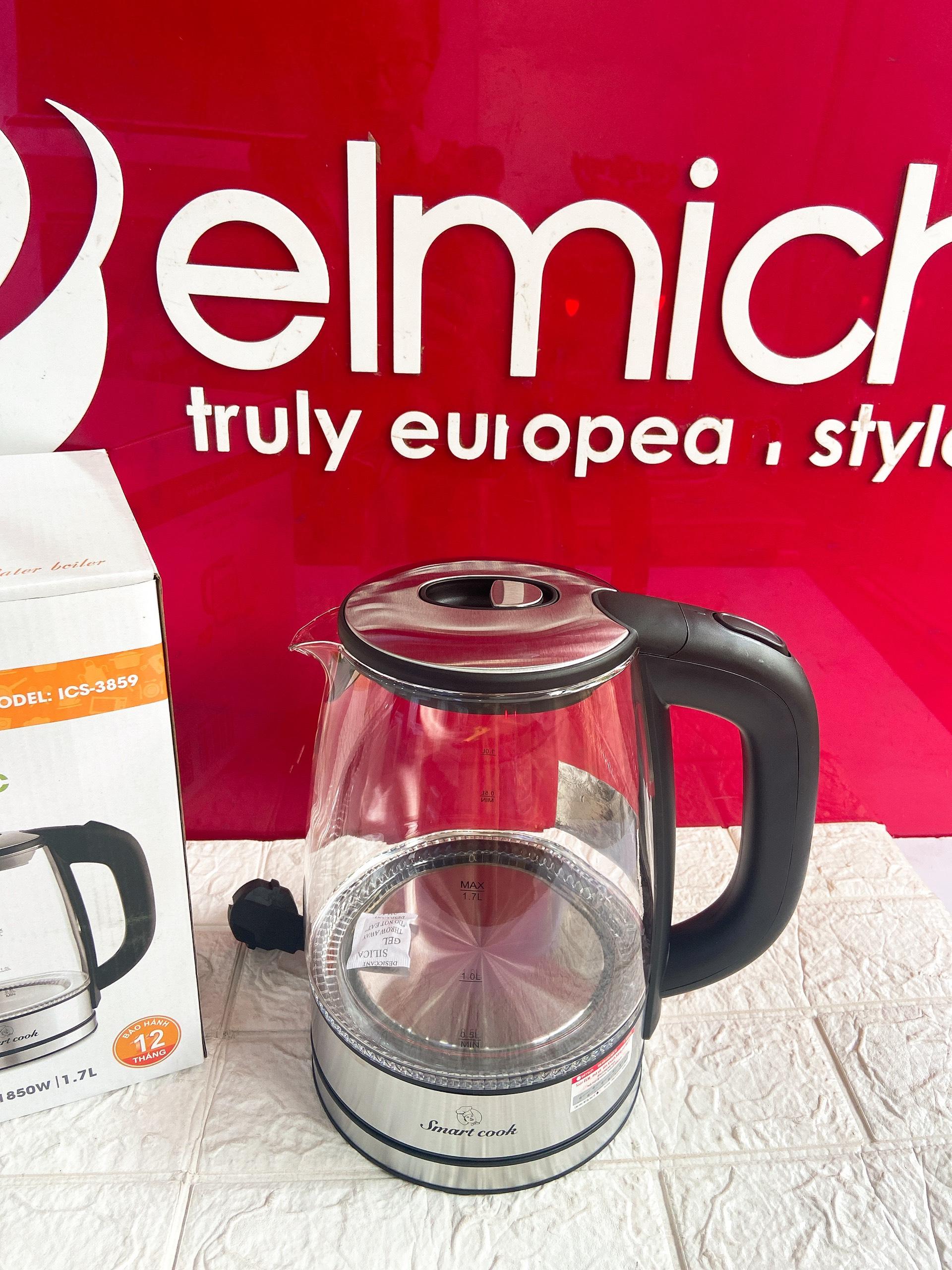 Ấm đun nước siêu tốc Elmich Smartcook ICS-3859 Hàng chính hãng