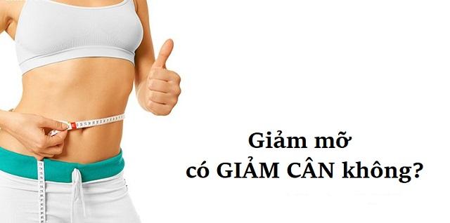 Giảm mỡ có giảm cân không và những vấn đề liên quan bạn cần biết