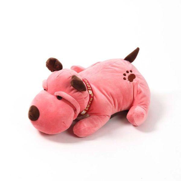 Túi Sưởi Ấm Lưng Họa Tiết Chó  Đa Năng (1 Sản Phẩm)- Dùng Điện  - Màu Hồng - Mẫu TSC0241