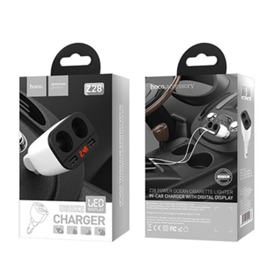 Adapter - Tẩu Điện Thoại  Hoco -  Z28 - Hàng Chính Hãng