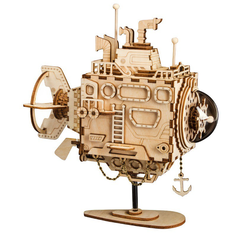 AM680 Submarine Music Box – Mô hình Hộp nhạc Tàu Ngầm