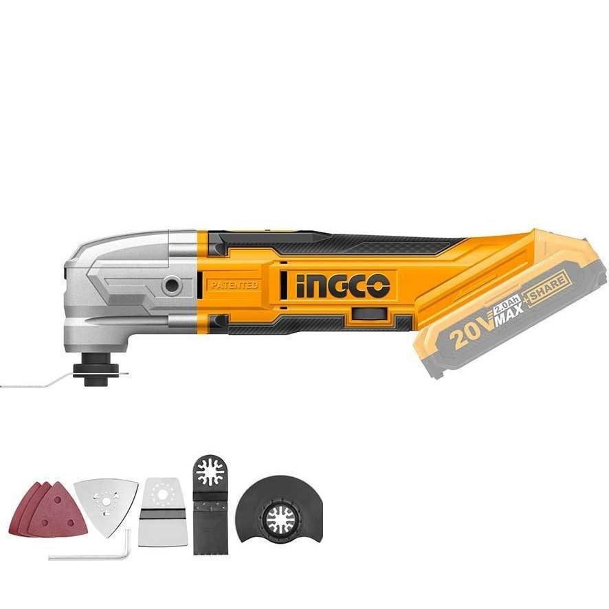 Máy cắt gọc đa năng dùng pin Lithium-Ion 20V  kèm 1pin 1xac NGCO - CMLI2001