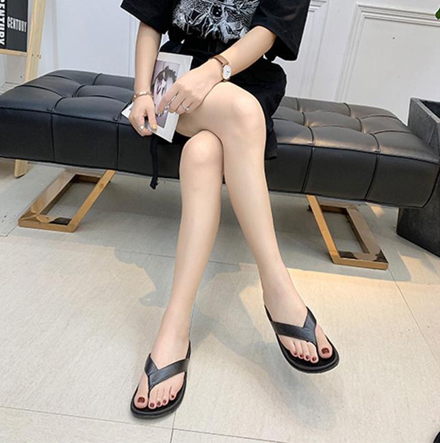 Dép Nữ Xỏ Ngón Bền Đẹp Thiết Kế Trẻ Trung 3Fashion - 3003W - Trắng
