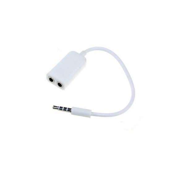 Cáp chia 2 audio 3.5mm 1 ra 2 dùng cho điện thoại