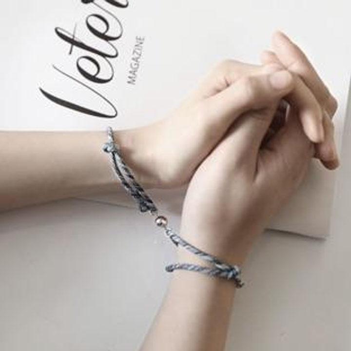 Vòng tay đôi nam châm tình duyên hút nhau lắc tay đôi nam nữ tình yêu