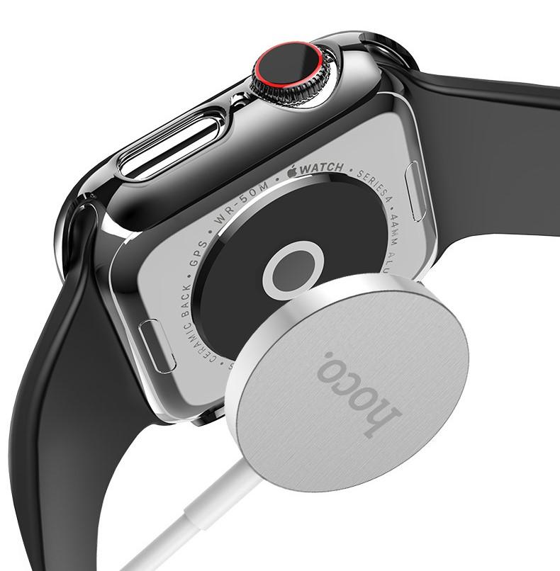 Ốp Case Bảo Vệ PC Hoco Thinfit Cho Apple Watch Series 4/ 5/ 6/ SE Size 40/44mm_ Hàng Nhập Khẩu