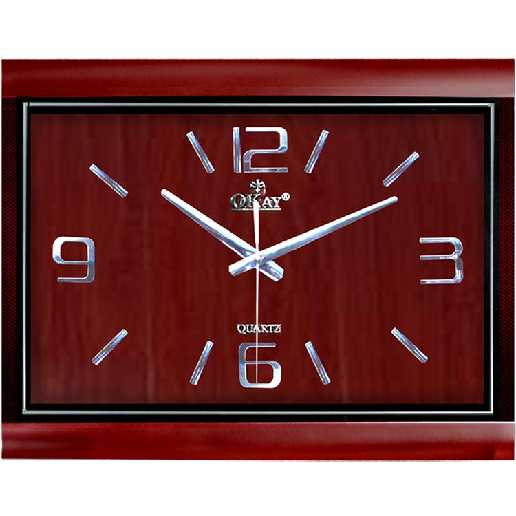 Đồng hồ treo tường thiết kế đẹp OKAY 93