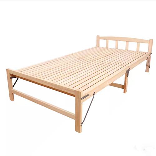 Giường gỗ, Giường gỗ thông gấp gọn - Giường gấp gọn, giường xếp, giường gỗ tặng nệm, giường ngủ