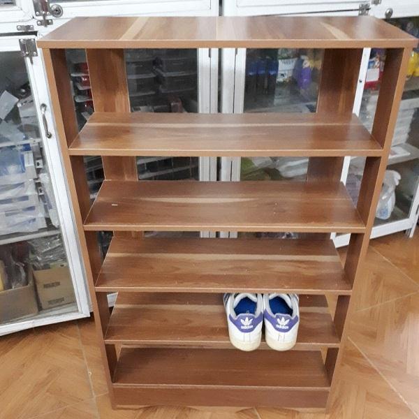 Kệ đựng giày 5 tầng gỗ cao cấp