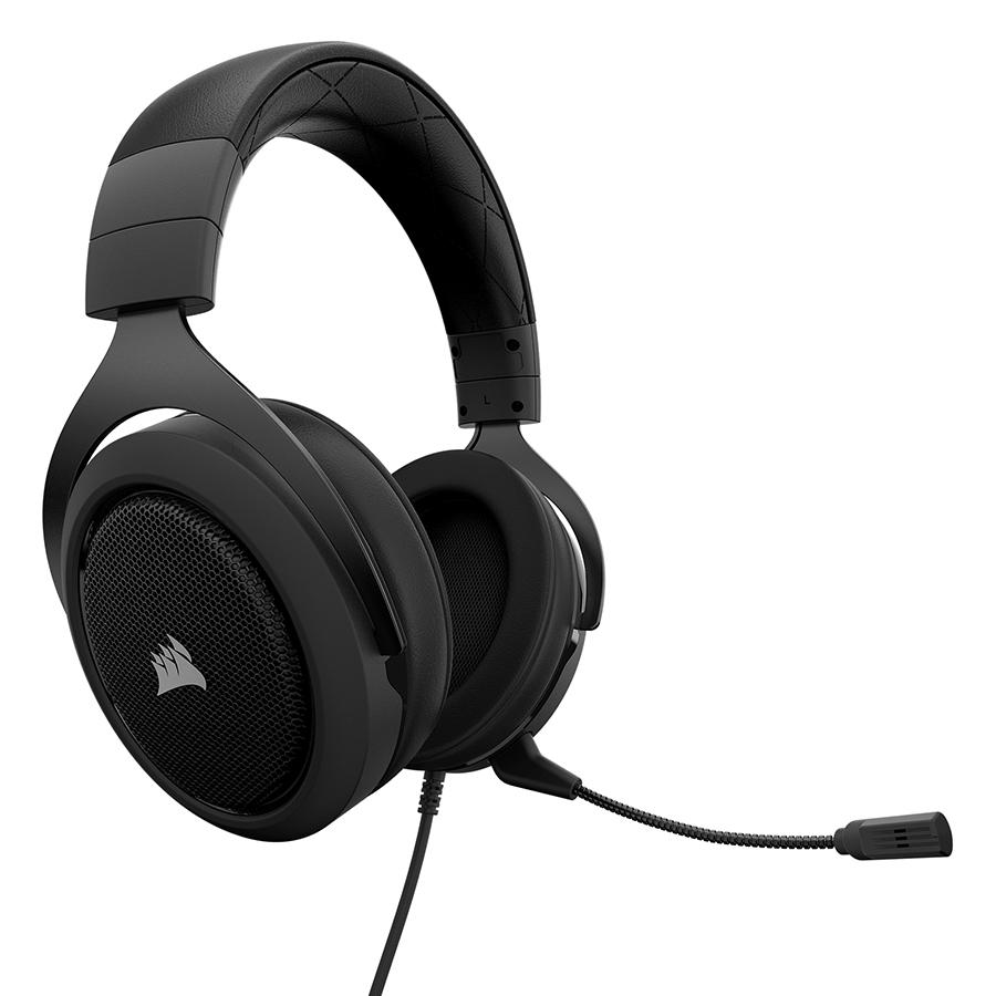 Tai Nghe Corsair HS50 Stereo Carbon CA-9011170-AP - Hàng Chính Hãng