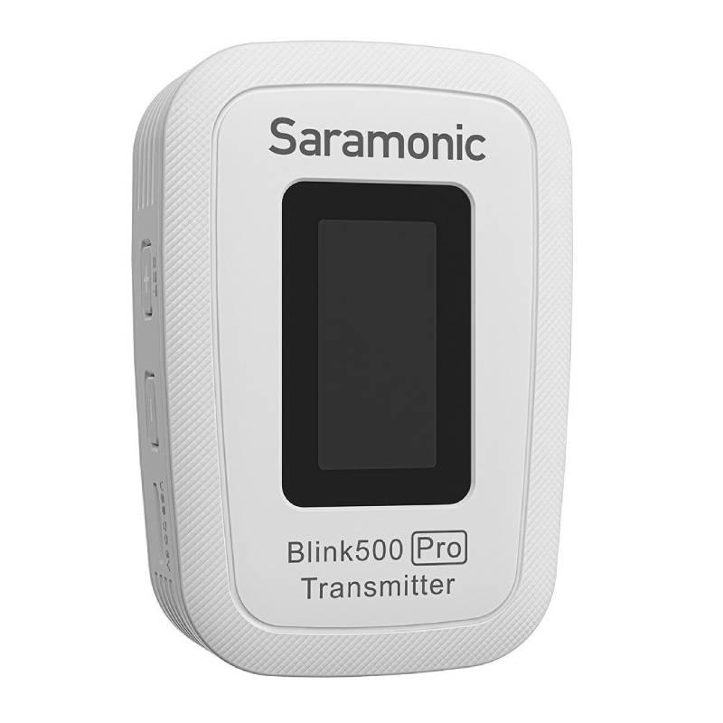 Micro thu âm không dây Saramonic Blink 500 Pro B1W cổng micro 3.5mm ( 1phát + 1thu) - Hàng Chính Hãng
