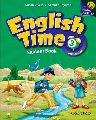 English Time 3 Student Book and Audio CD 2Ed
