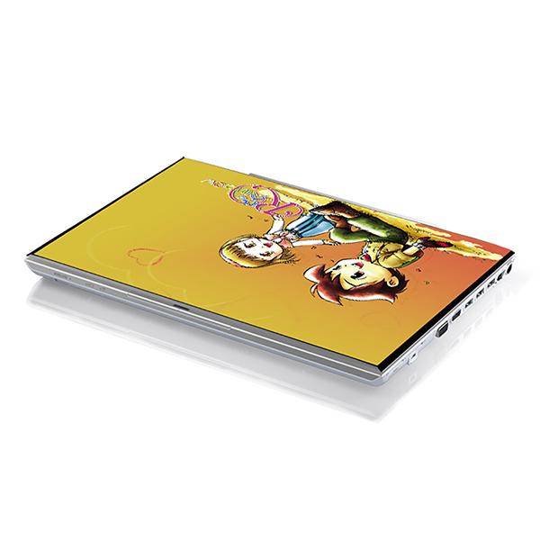 Mẫu Dán Decal Laptop Hoạt Hình Cực Đẹp LTHH-50