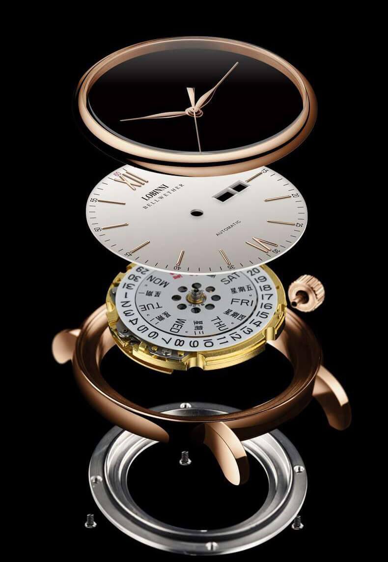 Đồng hồ nam chính hãng LOBINNI L12025-9