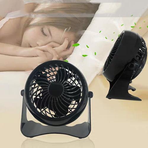 quạt sạc usb mini, xoay 360 độ, đa năng tiện lợi, kiểu dáng thời trang rất hợp để trên bàn làm việc hoặc ở trong phòng ngủ, tiếng ồn rất nhỏ <50db